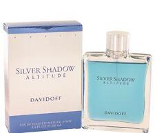 SILVER SHADOW ALTITUDE by Davidoff MEN 3.3 3.4 Oz Eau de Toilette /