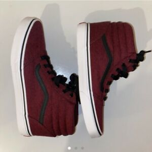 Boys Ward Hi VANS (Static Heather) Port Roy Mid-top Shoes  Size 2.5