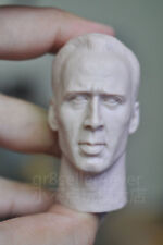 Free Shipping 1/6 scale Head Sculpt Nicolas Cage The Rock Dr. Stanley Goodspeed