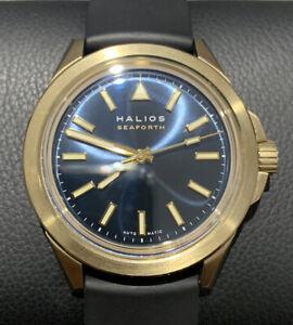 Halios Seaforth Bronze - Blue dial - Automatic Swiss ETA Watch