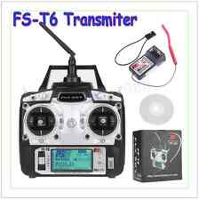 GoolRC FlySky FS-T6 2.4ghz Digital 6 Channel Transmitter and Receiver