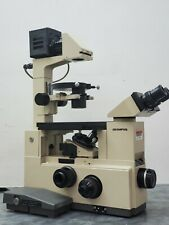 Olympus Imt 2 Inverted Microscope With 10x 20x Objectives Ulwcd Phase Contrast