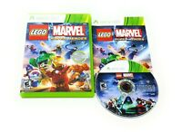 LEGO Marvel Super Heroes (Microsoft Xbox 360, 2013) Complete w/Manual FREE SHIP!