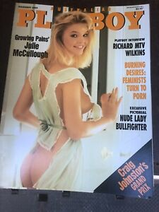 Australian Playboy Magazine November 1989 Been In Storage Since New