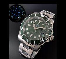 Steeldive Green Hulk SD1953 Watch Sapphire,NH35 BGW9 Luminous, Stainless Steel