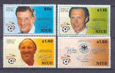 Fußball-WM 1990, Soccer - Niue - 753-756 ** MNH
