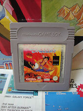 Game Boy GB:Aladdin [TOP DISNEY & 1ERE EDITION] SEUL - Fr