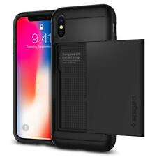 Spigen iPhone X Case Slim Armor CS Black