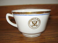 VINTAGE U.S. NAVY Coffee Cup Officers USN Shenango China
