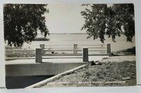 MN Lake Scene RPPC Detroit Lakes Minnesota Postcard L9