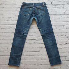 APC Petit New Standard Distressed Selvedge Denim Jeans Size 31 Faded Destroyed