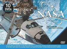 NASA (DVD 10 disc box) over 18 hours NEW