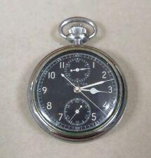 Pocket Watch, 19 Jewel Hamilton Model 23 Military Chronograph