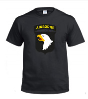 101st Airborne Division T-Shirt Tee Shirt USA Military Div the Screaming Eagles
