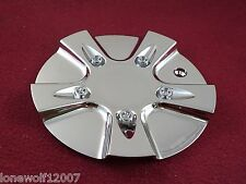 GIO / CABO Wheels Chrome Custom Wheel Center Cap # 51572085F (1)