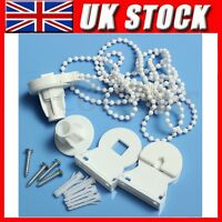 Replacement 25mm Roller Blind Fitting Repair Kit + Brackets and Chain - White
