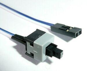 Power ON Reset SW Taster Ein Schalter 2 Polig Switch Kabel Mainboard PC Gehäuse