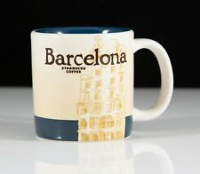 Starbucks 2009 Collectors Series Barcelona Demitasse Coffee Espresso Cup 3oz