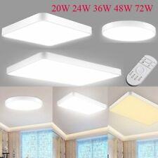 Modern LED Ceiling Down Light Dimmable Ultra Thin Flush Mount Home Bedroom Lamp