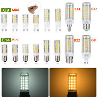 E27 E14 B22 G9 LED Maïs Ampoule 3W6W9W12W15W5730 SMD Blanc Chaud/Froid Lamp 220V