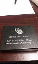 OEM Box - 2014 U.S. Mint Baseball Hall of Fame Clad Unc. Coin (NO COIN)