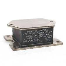 NOS LAMBDA LAS 5212-003 POWER HYBRID VOLTAGE REGULATOR OUTPUT 12V 10 AMP BM
