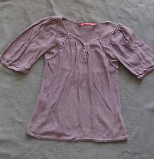 Tunique  fille - Coton - Coloris Prune - Comptoir des cotonniers  - Taille 8 ans