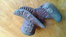 Vintage STEEL CITY # 525 Pipe Bender Allen Pat. 1712414 Red Cast Iron STEAMPUNK