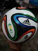 ADIDAS BRAZUCA FIFA WORLD CUP 2014 BRAZIL OFFICIAL SOCCER MATCH BALL SIZE 5 new