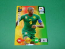 ETO'O CAMEROUN PANINI FOOTBALL FIFA WORLD CUP 2010 CARD ADRENALYN XL