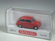 (NL-KR-5)  Wiking Fiat 600 rot TOP in OVP