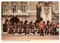 Vintage Postcards Pipe Band Leaving Buckingham Palace London B2