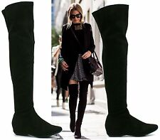 Unbranded Women's Synthetic Wedge Over Knee Boots