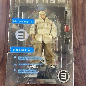 Art Asylum Eminem My Name is Eminem Action Figure Unopened New In Box 2001 Rap