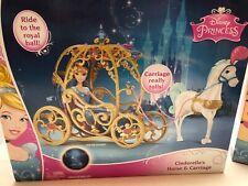 Disney Princess Cinderella with Horse Drawn Carriage, NIB