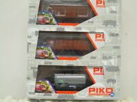 Piko 96084 Set 3 Piece Goods Wagon Sncb Ep.3/4 New IN Boxed M. Kkk + Nem, Cheap