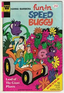 Fun-In #15 Hanna-Barbera Speed Buggy TV Show 1974 Whitman Variant VG