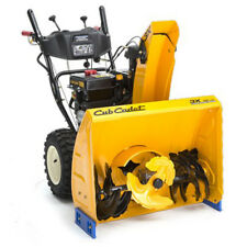 "HD Cub Cadet 3X Snow Blower Thrower 30"" Gas Powered Electric Start Power Steer"