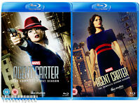 MARVEL'S AGENT CARTER Season 1 & 2 [Blu-ray Set] Complete ABC Series One & Two