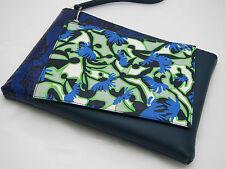 MARY KATRANTZOU 'Dancer' Multicolor Leather Double Clutch NEW+dustbag