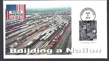 4801e * MADE IN AMERICA * BUILDING A NATION * 2013 ISSUE * RAILROAD YARD >