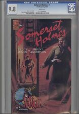 Somerset  Holmes #1  CGC 9.8 1983 Pacific Detective Comic: Al Williamson