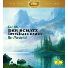 GERT WESTPHAL - KARL MAY: DER SCHATZ IM SILBERSEE  2 MP3 CD-ROM  HÖRBUCH  NEU