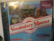 Vocabulary Master Language Learning Software for Several Languages