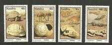 Namibia - Fossilien Satz  postfrisch 1995 Mi.Nr. 789-792