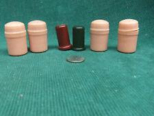 Vintage mini plastic salt and pepper shakers Lot of three