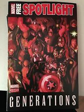 COMIC CON SDCC 2017 MARVEL GENERATIONS COMIC BOOK