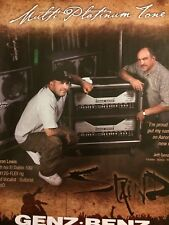 Staind, Genz Benz Equipment, Full Page Promotional Ad