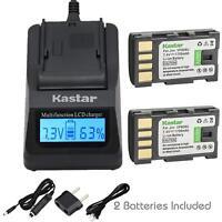 BN-VF808U Battery or Fast Charger for JVC GR-D870 GR-D875 GR-DA30 GS-TD1 GR-D720