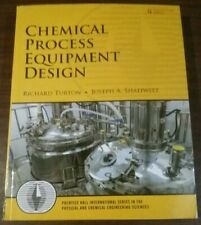 Chemical Process Equipment Design By Richard Turton Paperback